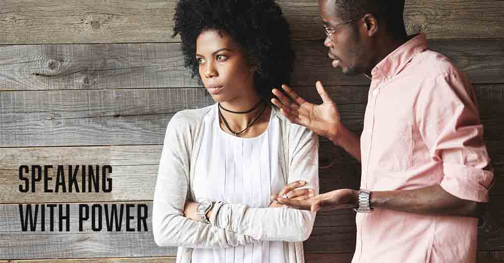 Speaking with Power a daily devotional by Vince Miller