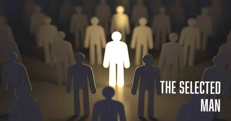 The selected man Job a daily devotional by Vince Miller