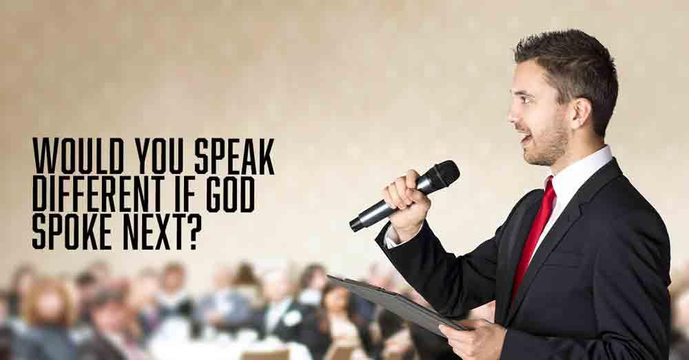 God Spoke Next a devotional by Vince Miller