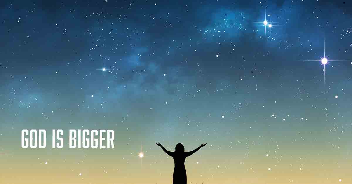 God is bigger than everything by Vince Miller