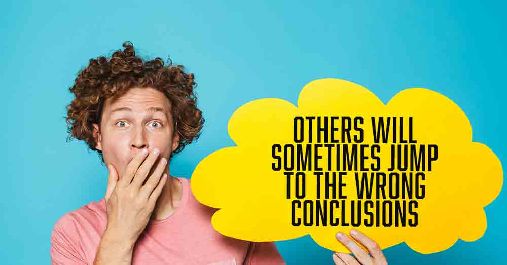 When others jump to the wrong conclusions about you devotional by Vince Miller