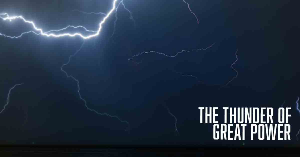 The thunder of great power a devotional by Vince Miller