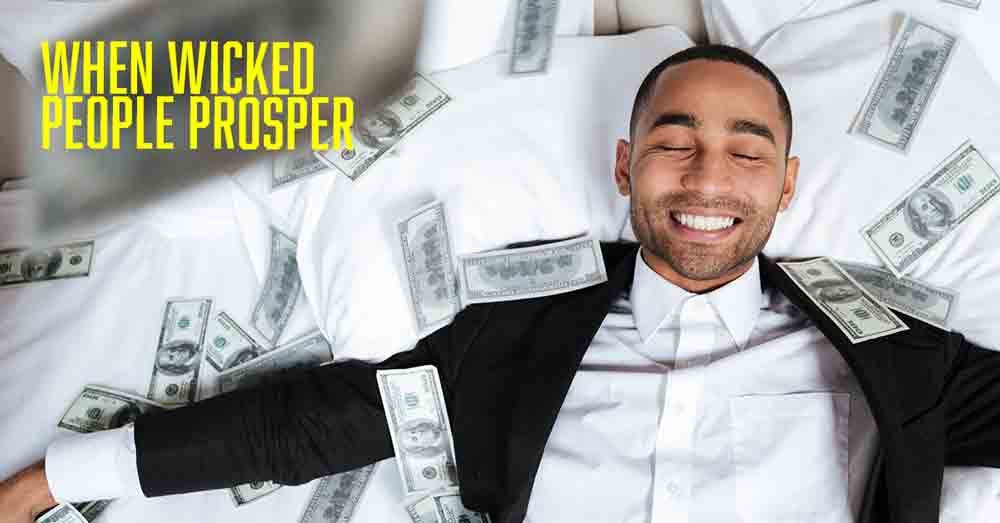 when wicked people prosper a daily devotional by Vince Miller