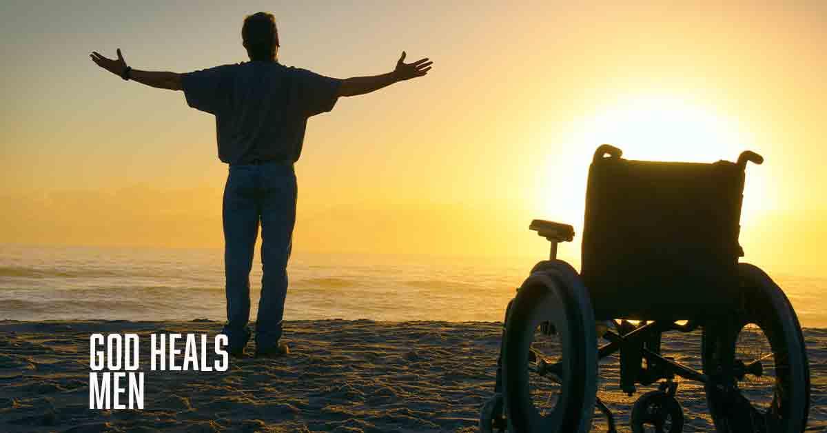 God heals Men
