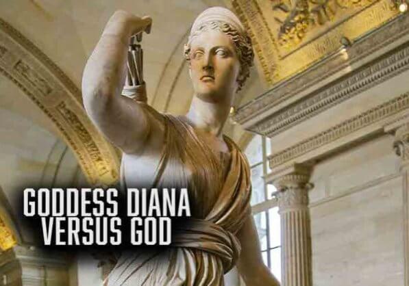 Goddess Diana Versus God